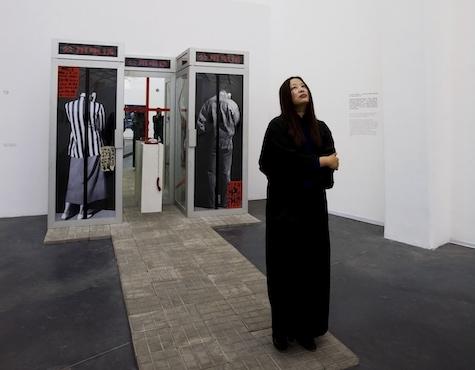 肖鲁就1989年在中国美术馆枪击作品《对话》给高名潞的信